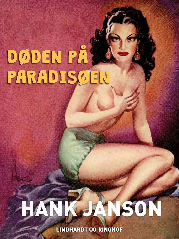 Døden på paradisøen af Hank Janson