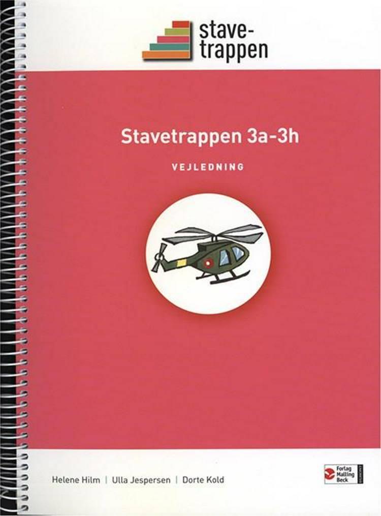 Stavetrappen 3a - 3h, Vejledning, Netadgang af Dorte Kold, Helene Hilm og Ulla Jespersen