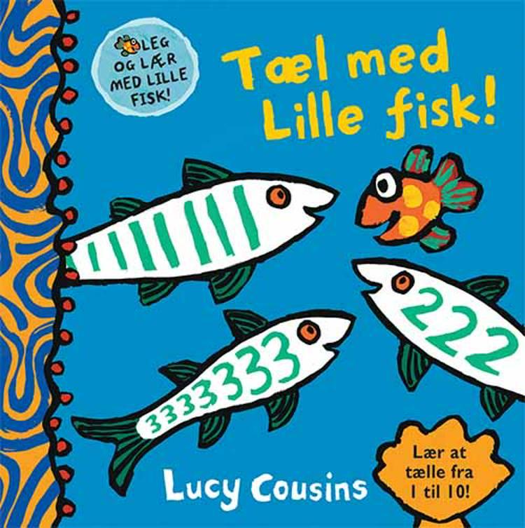 Tæl med Lille fisk af Lucy Cousins