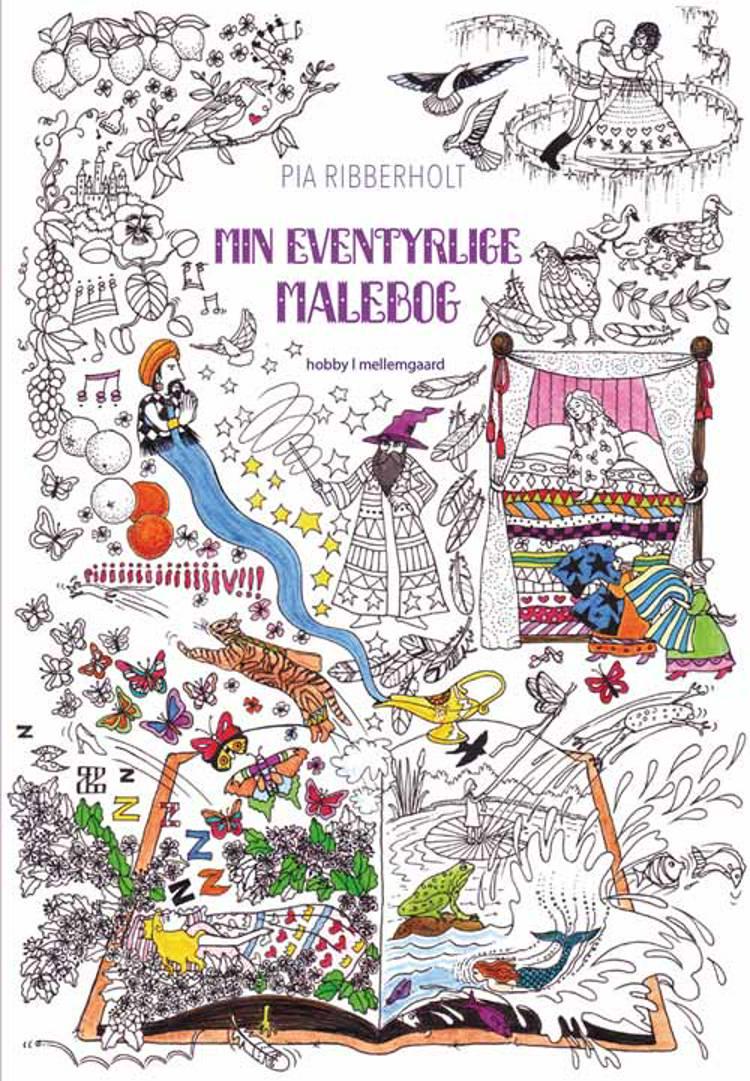 Min eventyrlige malebog af Pia Ribberholt