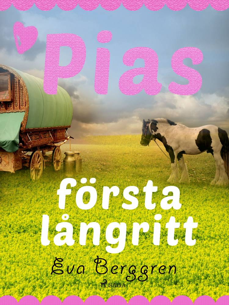Pias första långritt af Eva Berggren