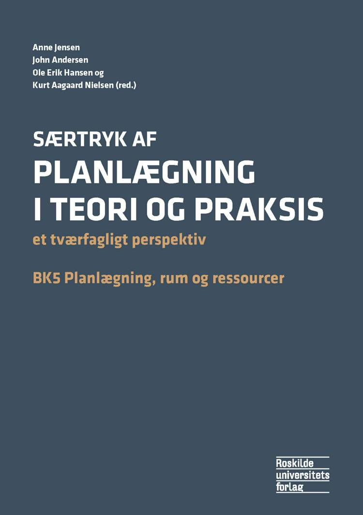 Planlægning i teori og praksis af John Andersen, A. Jensen, O.E. Hansen, J. Andersen, Anne Jensen og Ole Erik Hansen m.fl.