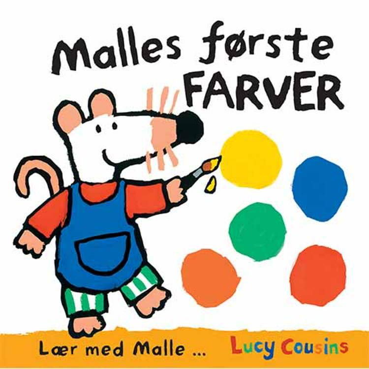 Malles første farver af Lucy Cousins
