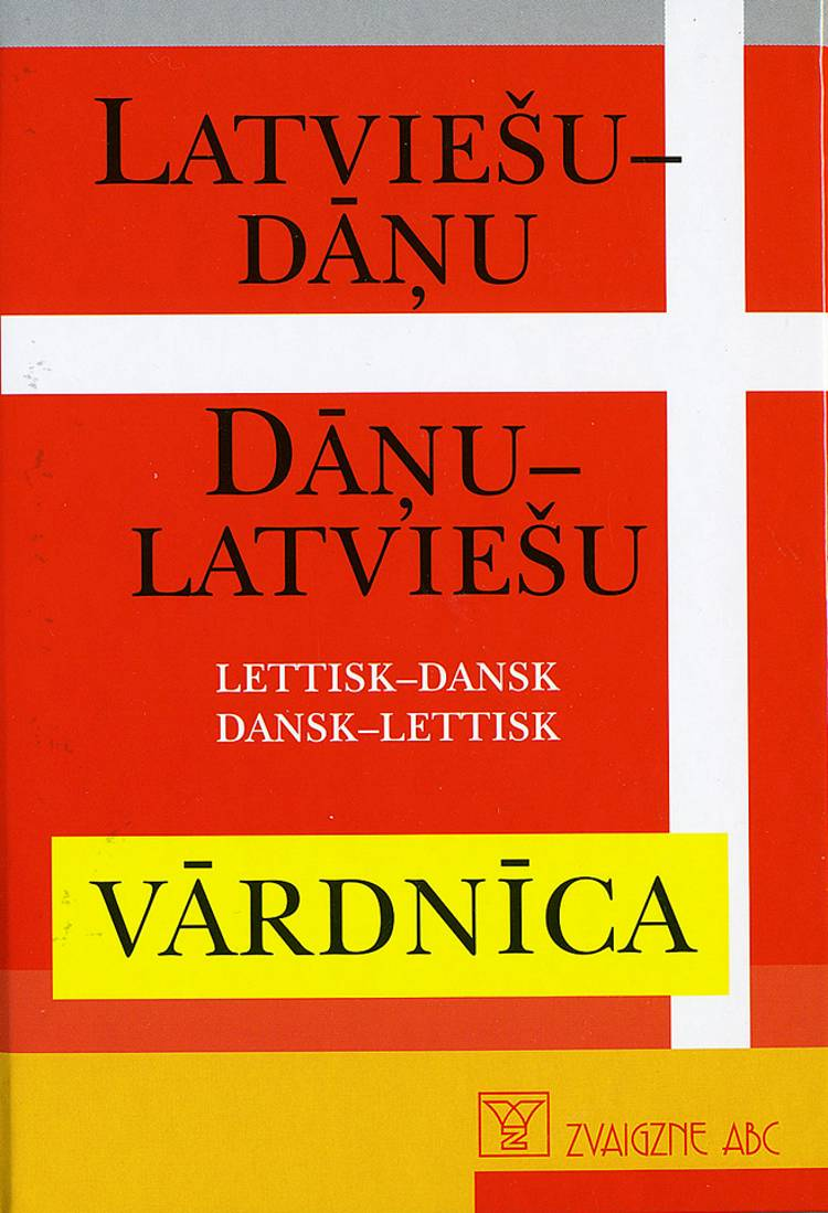 Latviesu-Danu, Danu-Latviesu af Rute Ledina og Karstens Lomholts