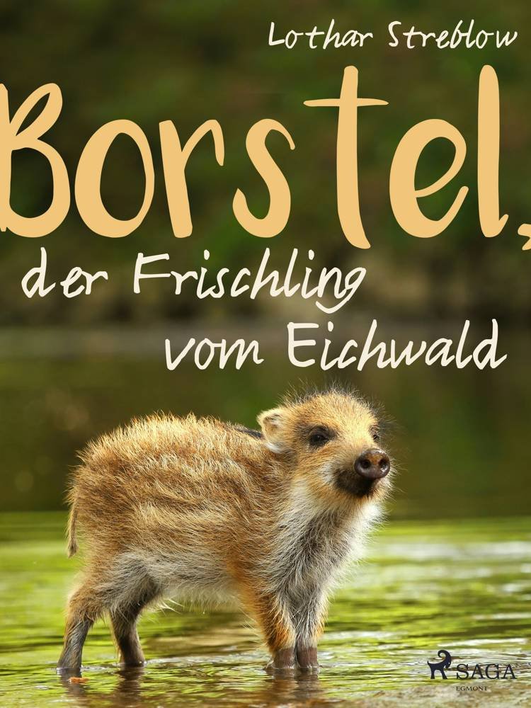 Borstel, der Frischling vom Eichwald af Lothar Streblow