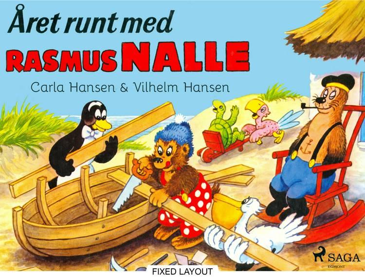 Året runt med Rasmus Nalle af Vilhelm Hansen og Carla Hansen
