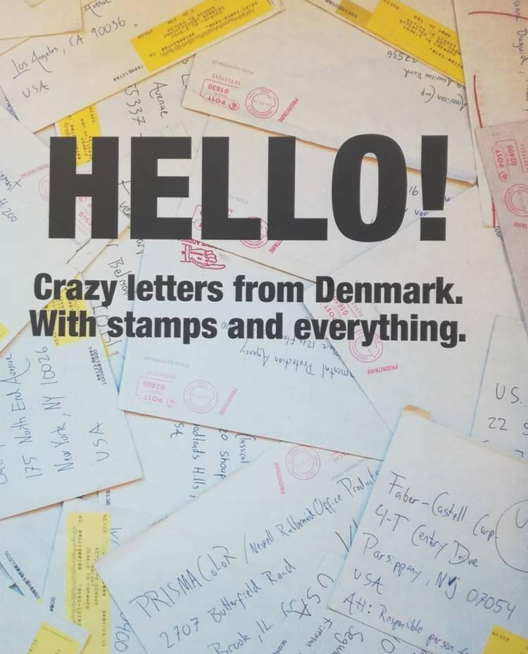 HELLO! af Lars Thorsen