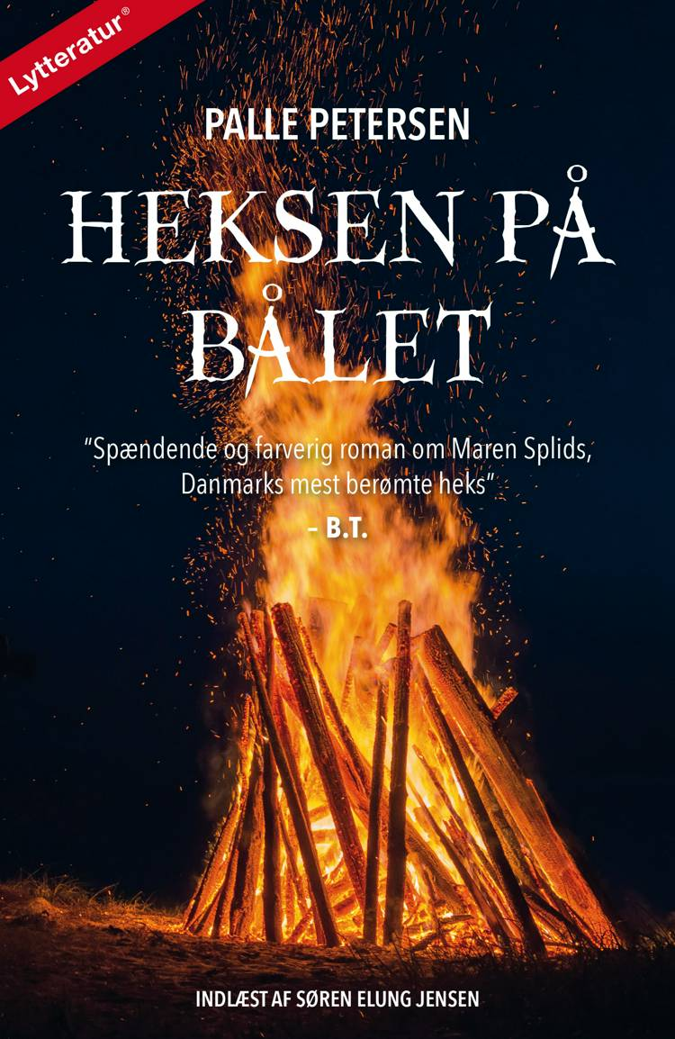 Heksen på bålet af Palle Petersen