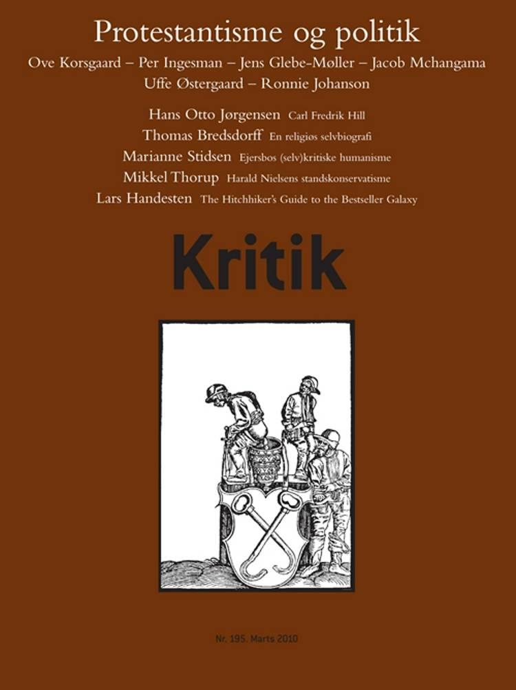 Kritik, 43. årgang, nr. 195 af Lasse Horne Kjældgaard og Frederik Stjernfelt
