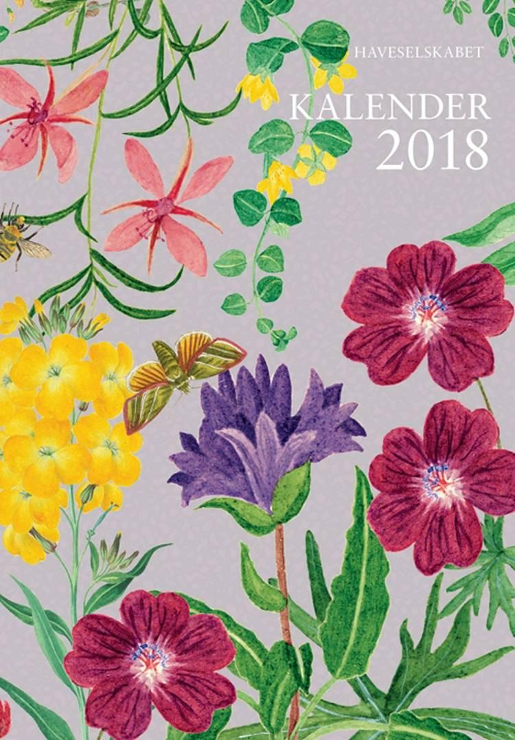 Haveselskabet Kalender 2018 af Gyldendal