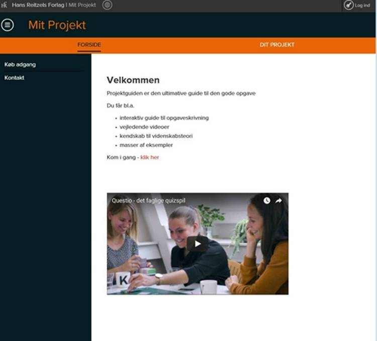 Projektguiden af Ditte Dalum Christoffersen og Kit Stender Petersen