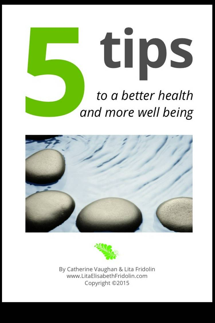 5 tips to a better health and more well being af Lita Elisabeth Fridolin