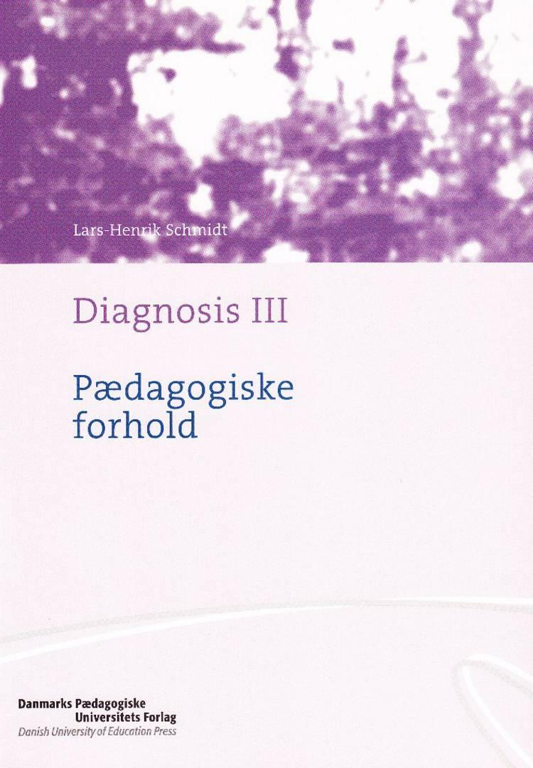 Diagnosis af Lars-Henrik Schmidt