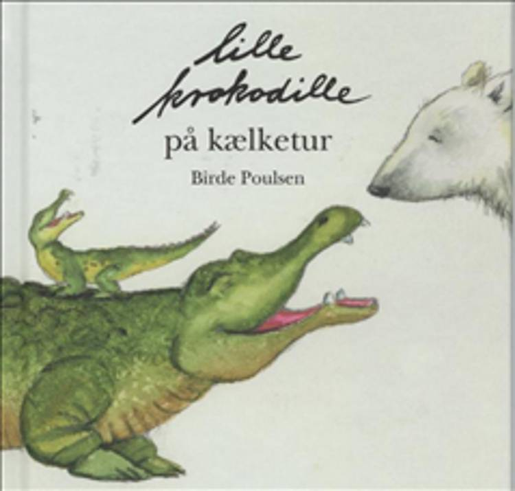 Lille Krokodille på kælketur af Birde Poulsen