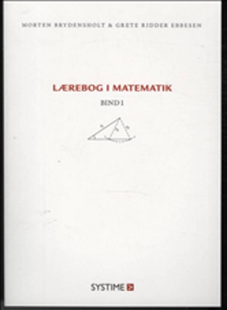 Lærebog i matematik af Morten Brydensholt og Grete Ridder Ebbesen