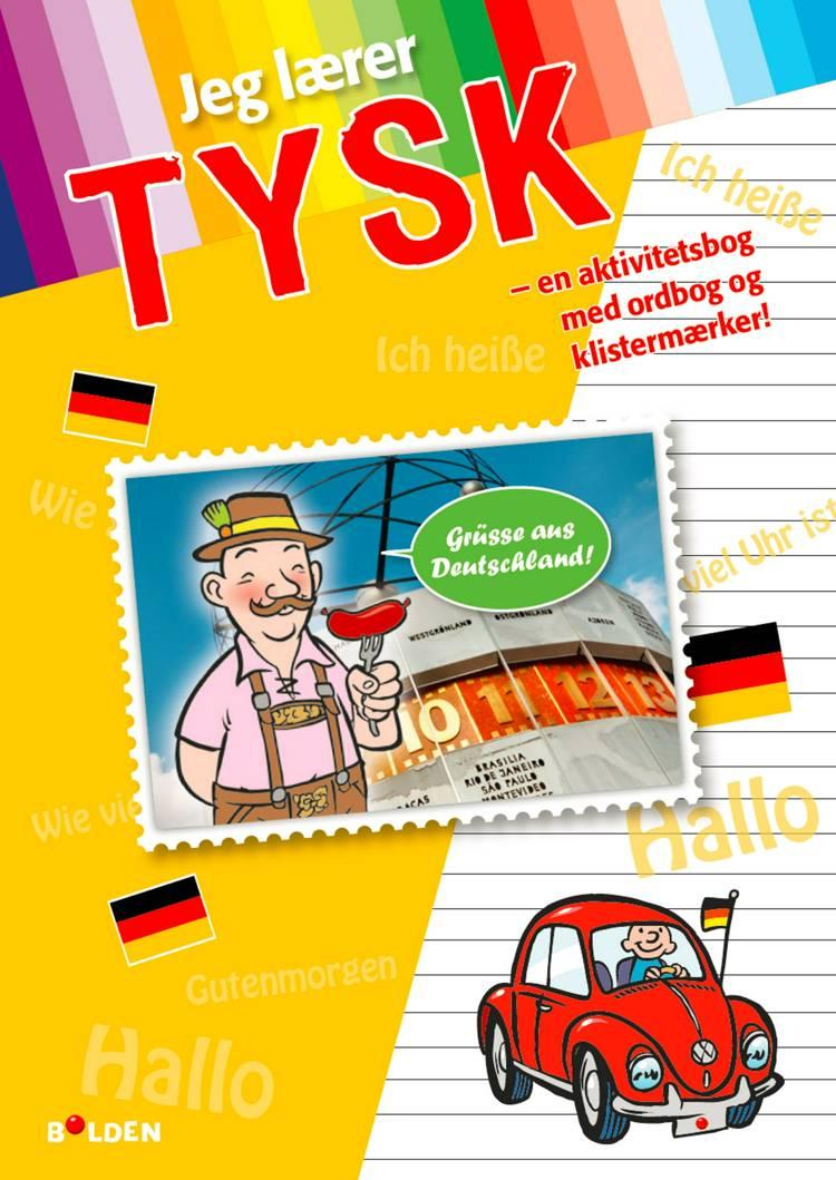 Jeg lærer tysk - med ordbog og stickers