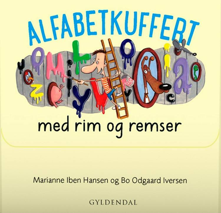 Alfabetkuffert med rim og remser af Marianne Iben Hansen