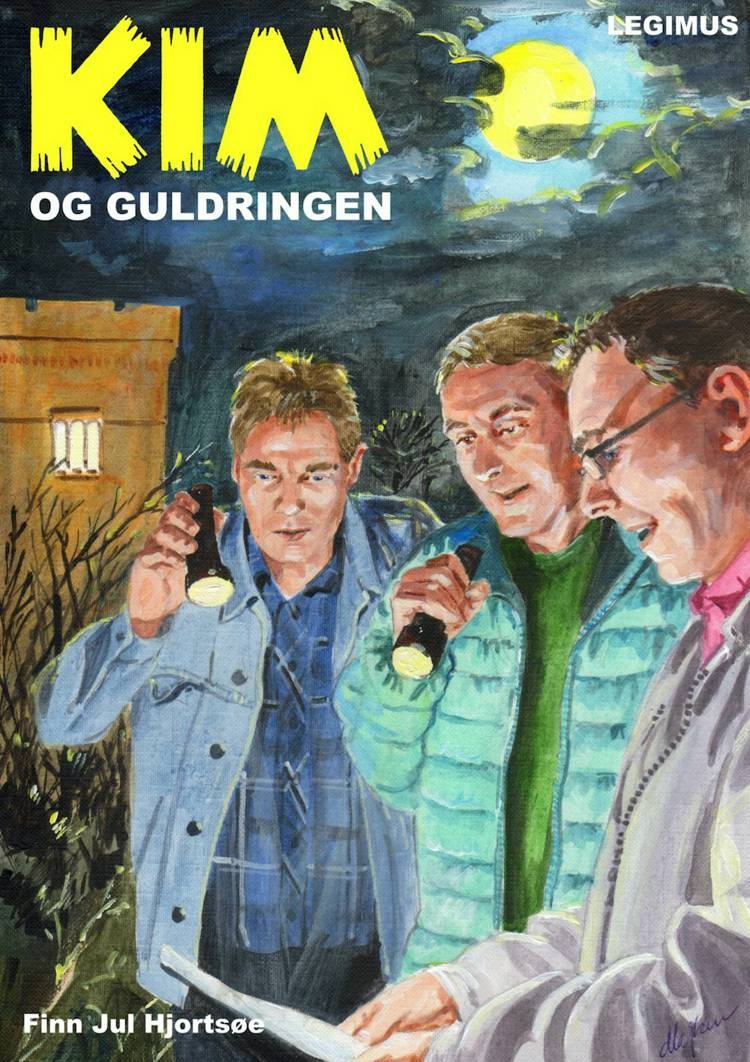 Kim og guldringen af Finn Jul Hjortsøe