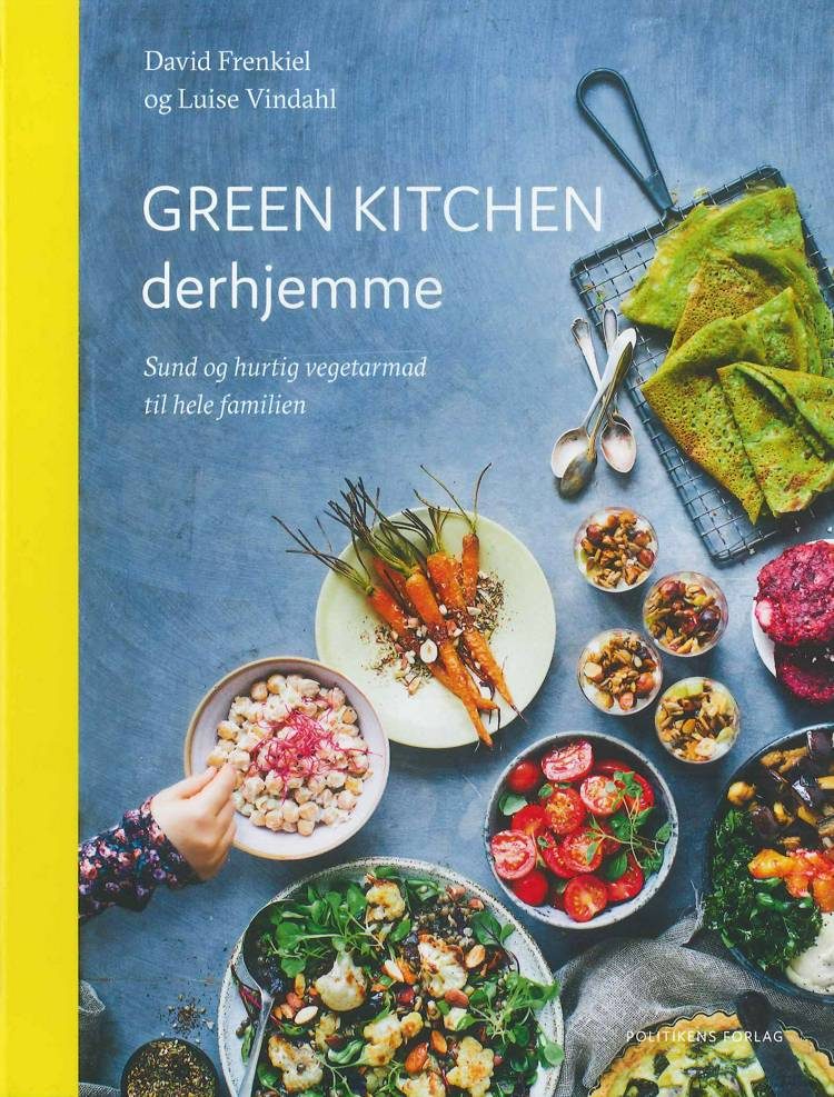Green Kitchen derhjemme af David Frenkiel og Luise Vindahl