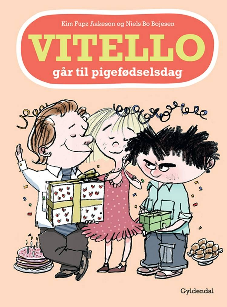 Vitello går til pigefødselsdag af Kim Fupz Aakeson og Niels Bo Bojesen