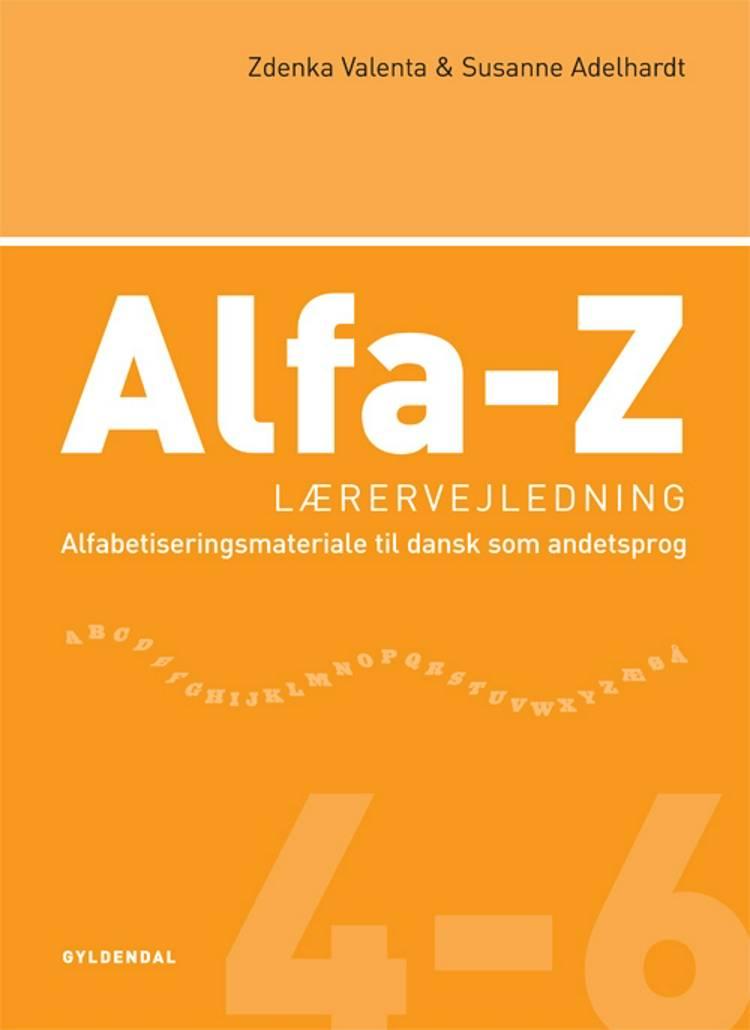 Alfa-Z 4-6 - lærervejledning af Zdenka Valenta og Susanne Adelhardt