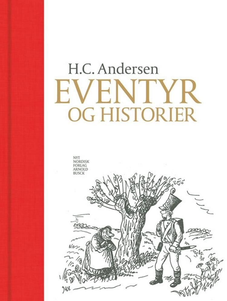 Eventyr og historier af H.C. Andersen, Jørn Jensen, Herluf Jensenius og H.C.Andersen