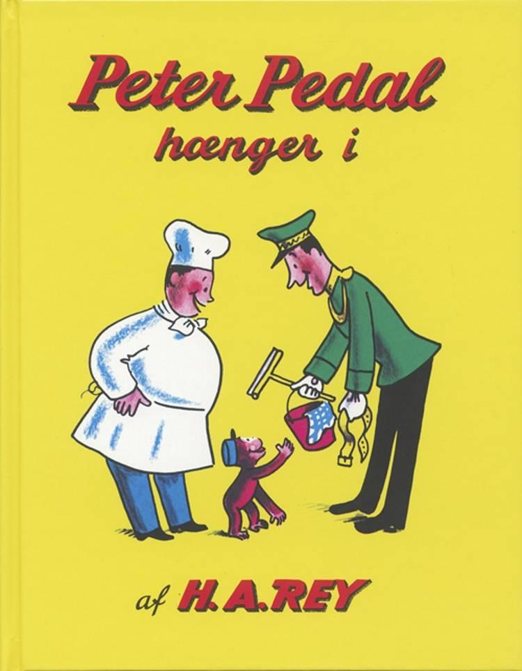Peter Pedal hænger i af H.A. Rey
