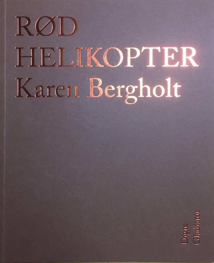 Rød helikopter af Karen Bergholt