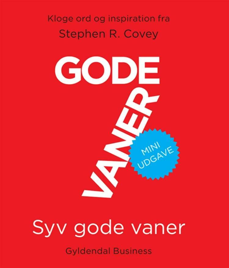 Syv gode vaner af Stephen R. Covey