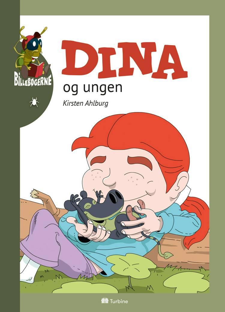 Dina og ungen af Kirsten Ahlburg
