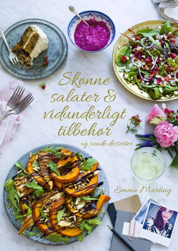 Skønne salater & vidunderligt tilbehør af Emma Martiny