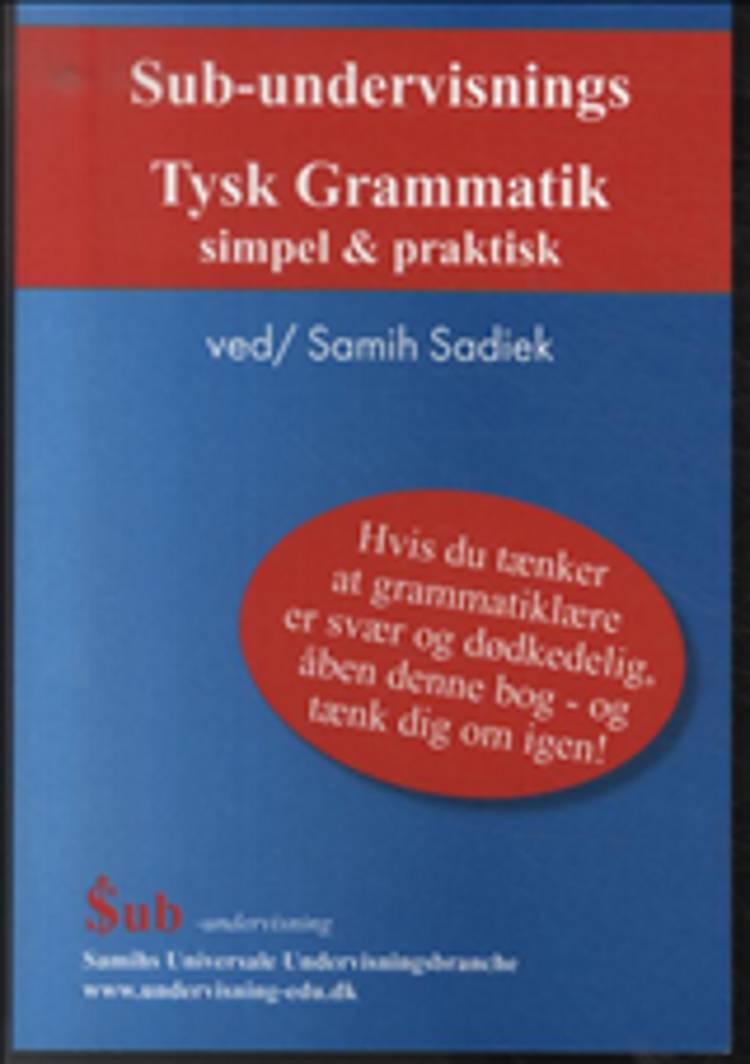 Sub-undervisnings tysk grammatik