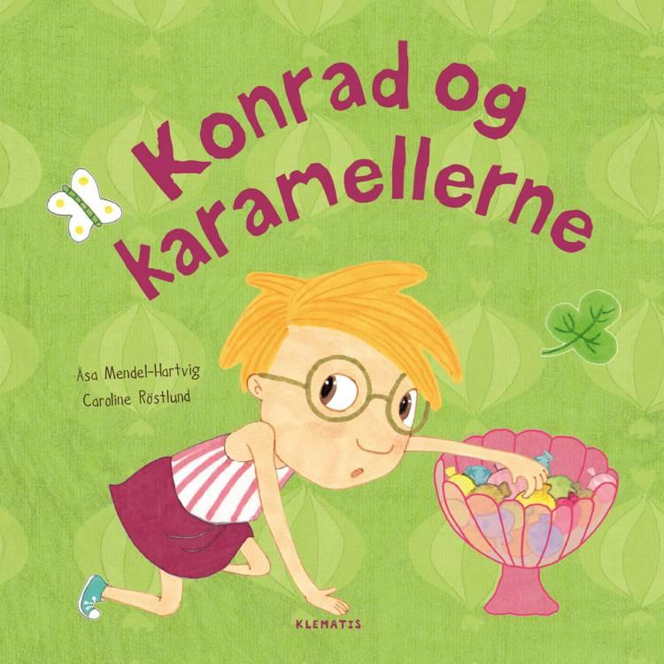 Konrad og karamellerne af Åsa Mendel-Hartvig