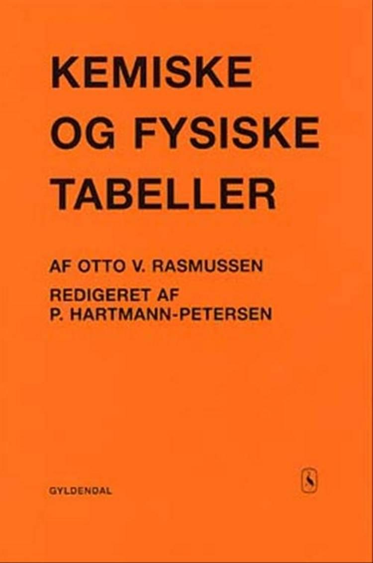 Kemiske og fysiske tabeller af Otto V. Rasmussen og Preben Hartmann-Petersen