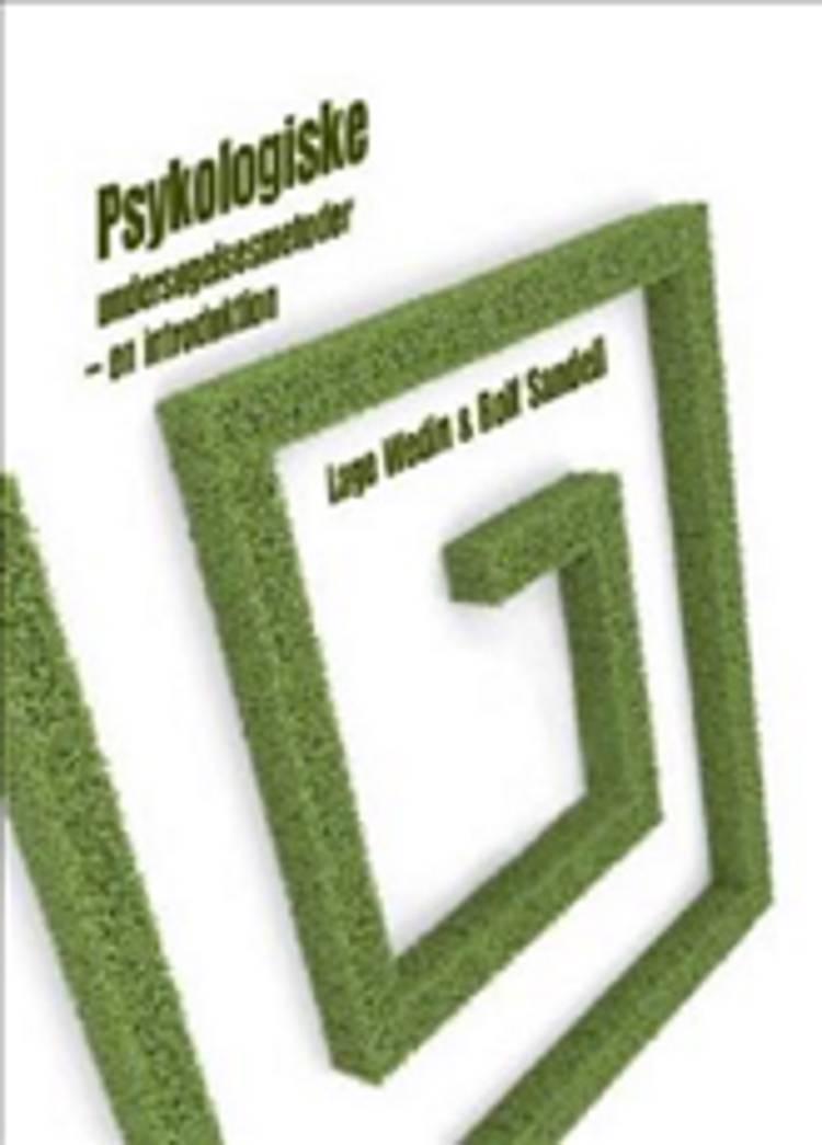 Psykologiske undersøgelsesmetoder af Rolf Sandell og Lage Wedin