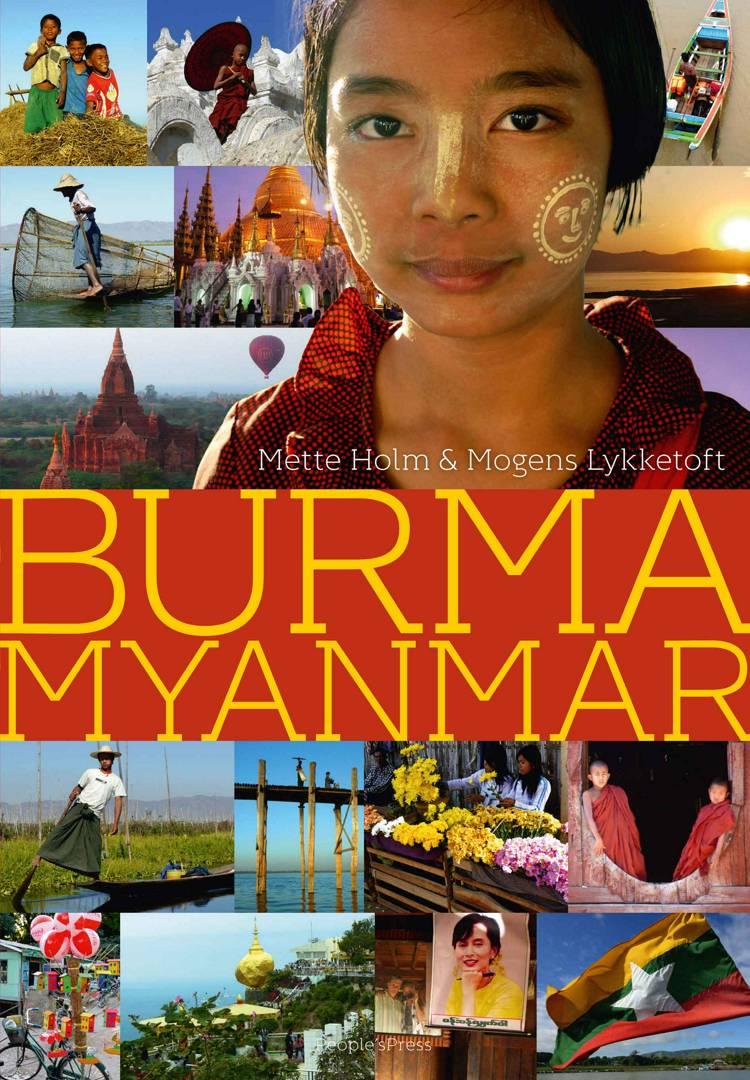 Burma Myanmar af Mette Holm og Mogens Lykketoft