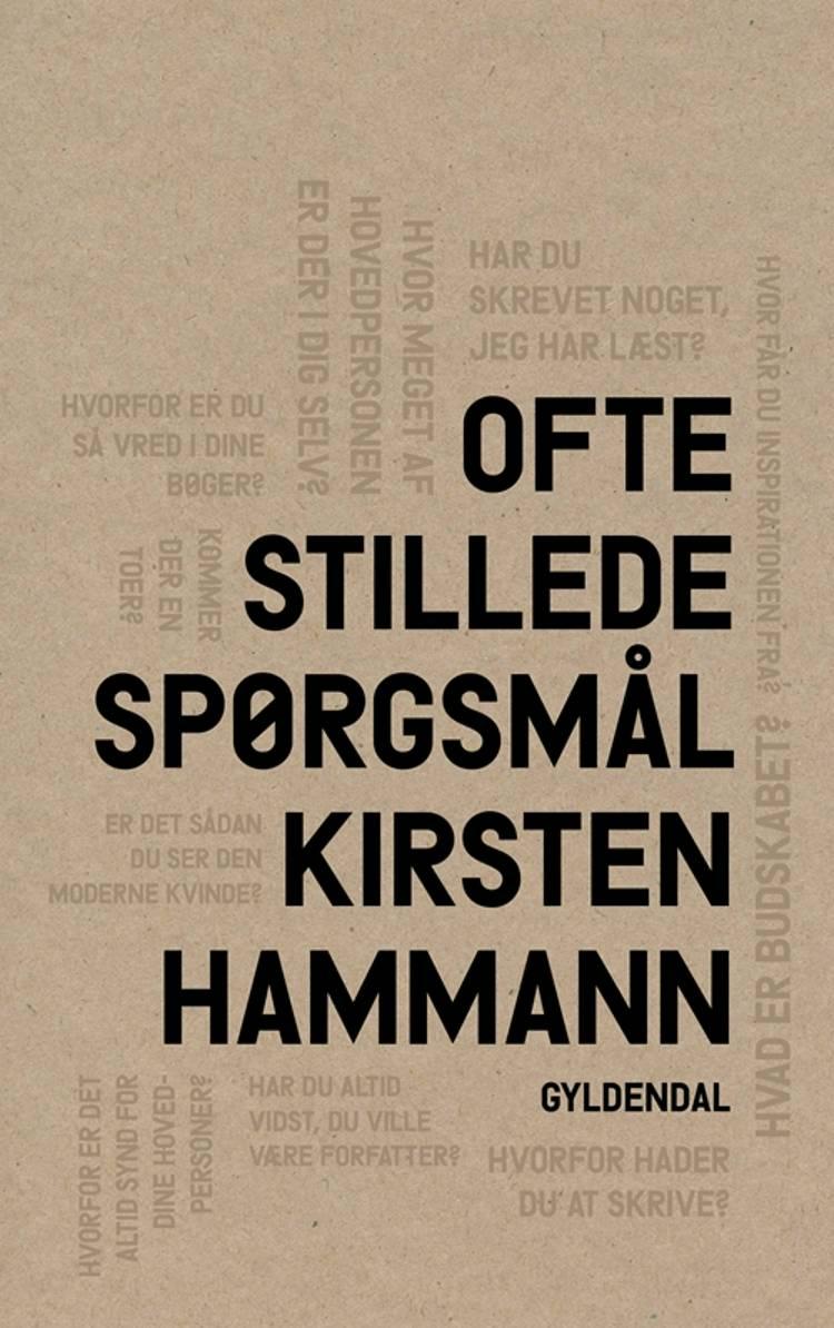 Ofte stillede spørgsmål af Kirsten Hammann