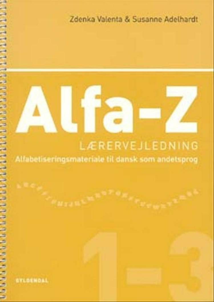 Alfa-Z 1-3 - lærervejledning af Zdenka Valenta og Susanne Adelhardt