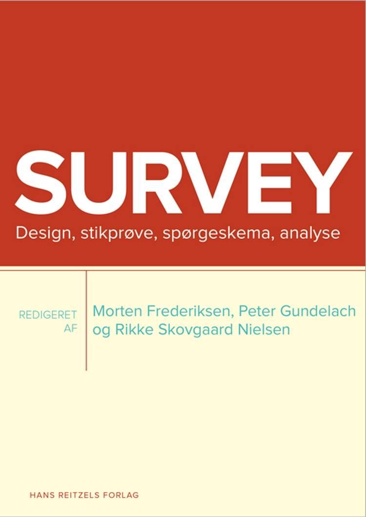 Survey af Dines Andersen, Sanne Lund Clement og Hans Bay m.fl.