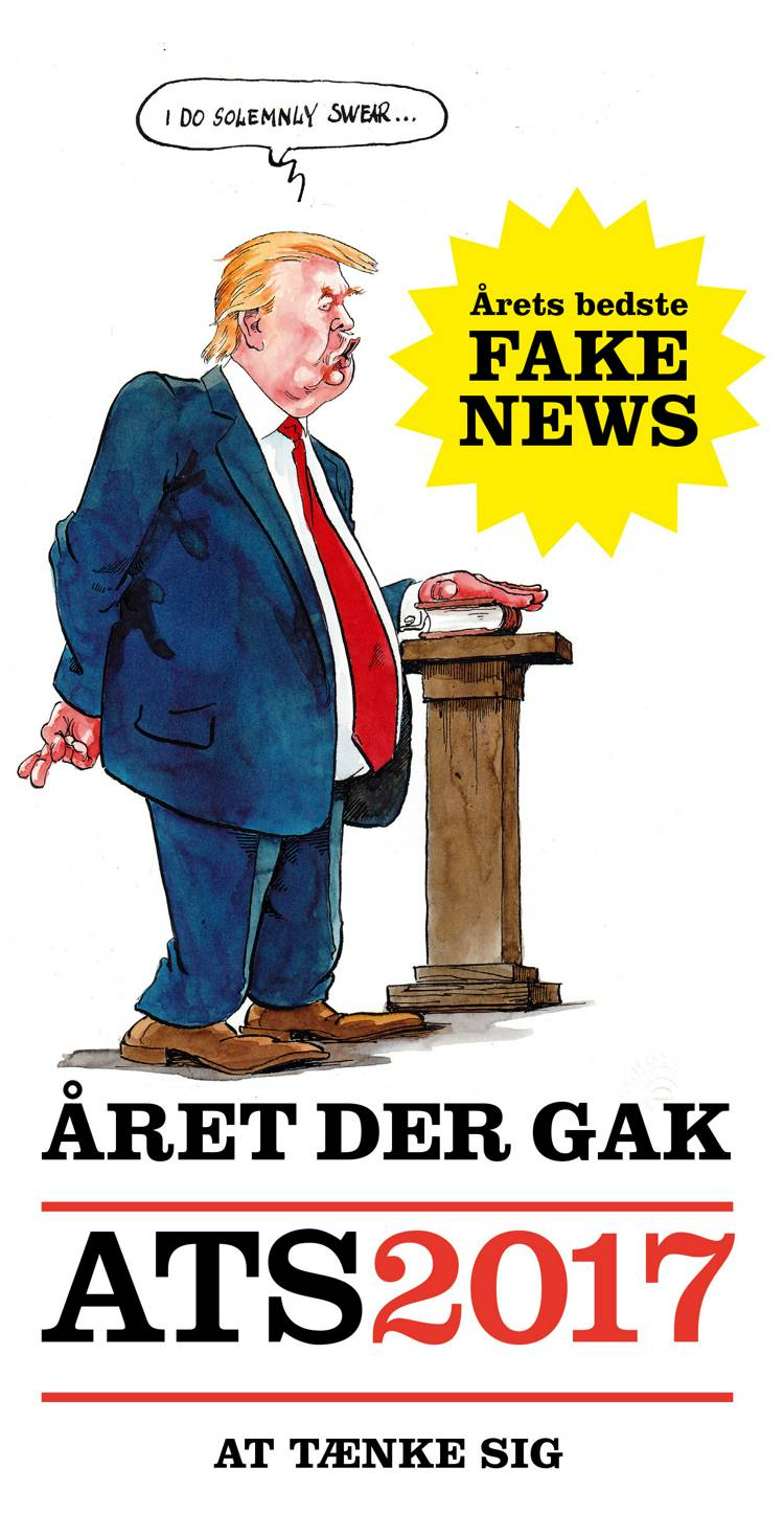Året der gak - ATS 2017 af Ole Rasmussen og Gorm Vølver
