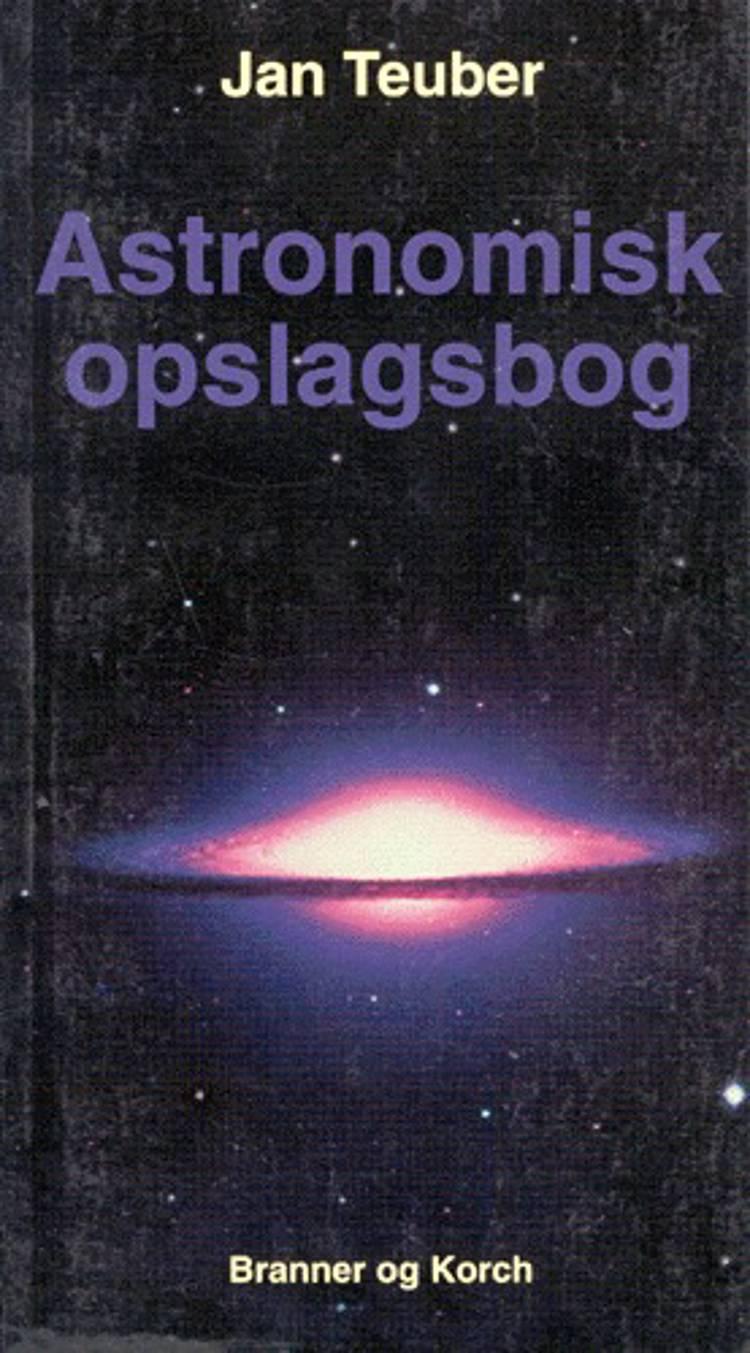 Astronomisk opslagsbog af Jan Teuber