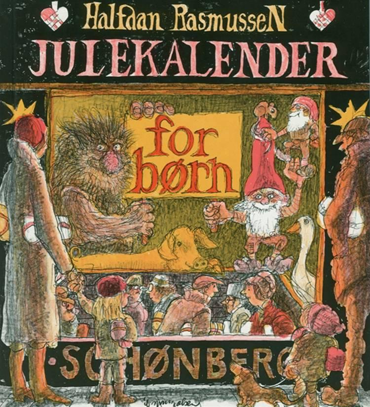 Julekalender for børn af Halfdan Rasmussen og Ib Spang Olsen