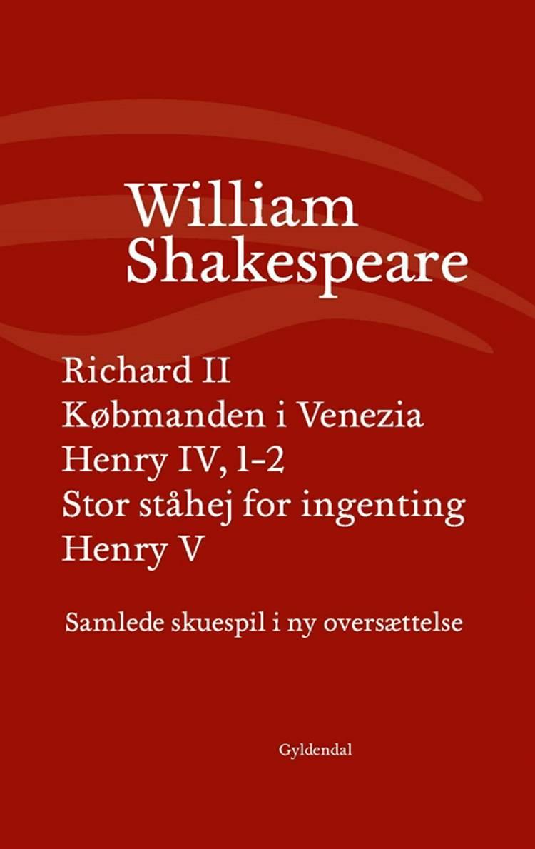 Samlede skuespil III af William Shakespeare