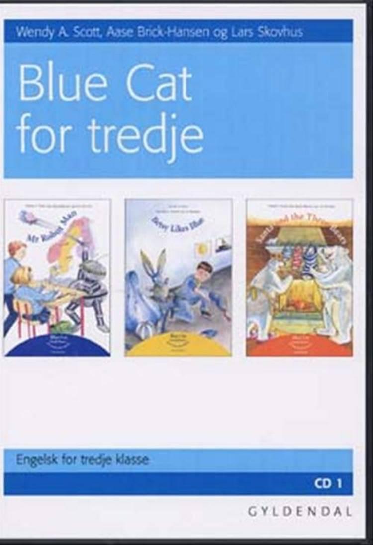 Sprog cd Blue Cat for 3.kl. CD 1 af Lars Skovhus, Aase Brick-Hansen og Wendy A. Scott