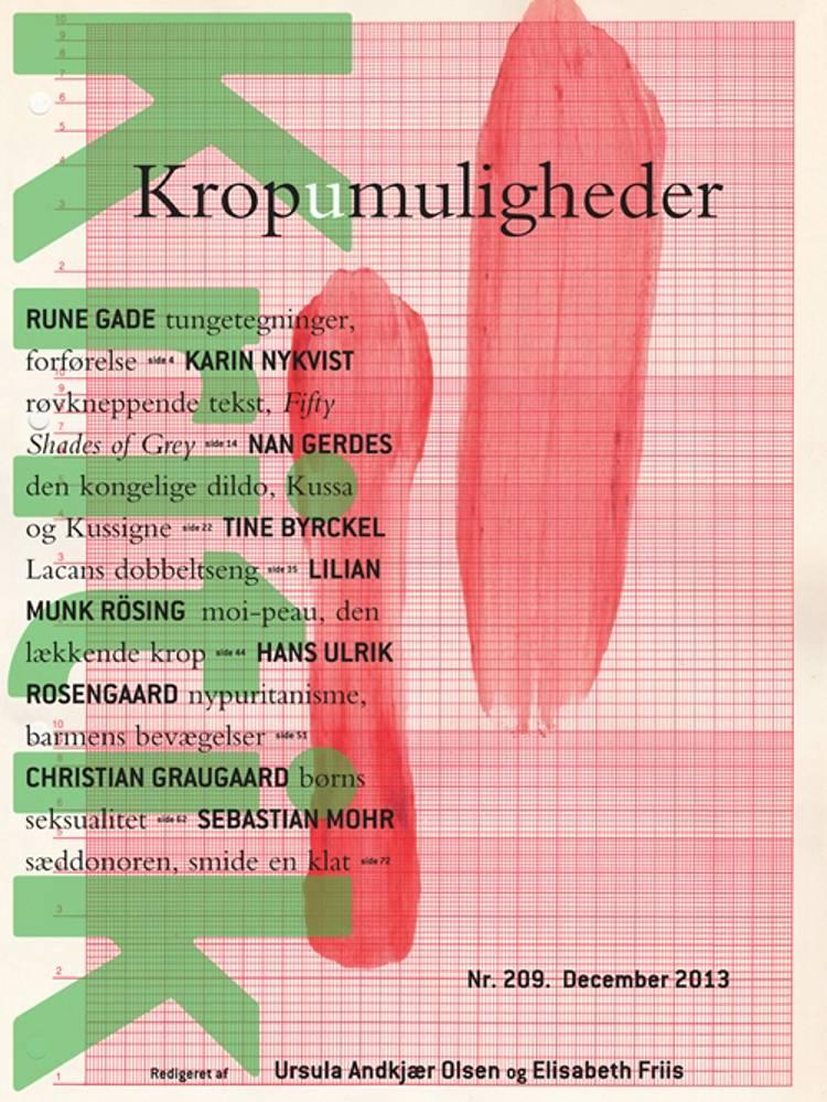 Kritik, 46. årgang, nr. 209 af Ursula Andkjær Olsen og Elisabeth Friis