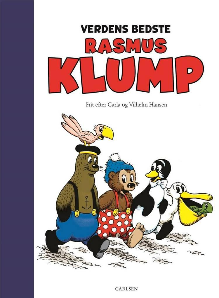 Verdens bedste Rasmus Klump, Vilhelm Hansen, Carla Hansen, Rasmus Klump, børnebog, højtlæsning