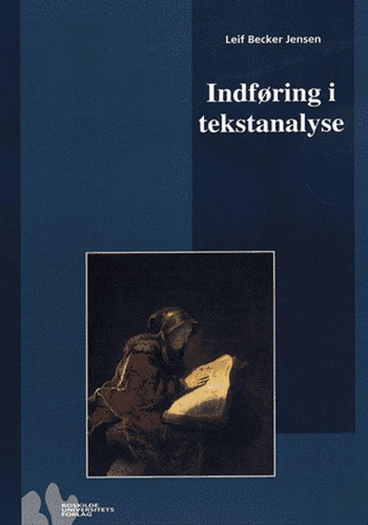 Indføring i tekstanalyse af Leif Becker Jensen