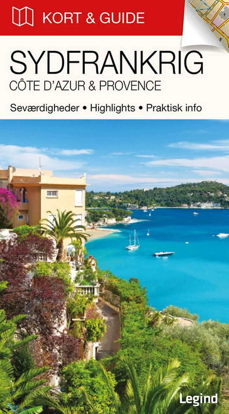 Kort & Guide - Sydfrankrig: Côte d'Azur & Provence af Eva Tangø-Brandt