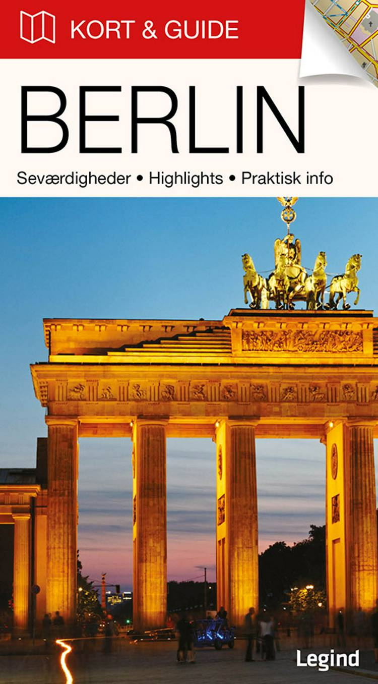 Kort & Guide - Berlin af Eva Tangø-Brandt