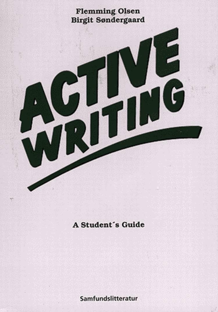 Active writing af Birgit Søndergaard og Flemming Olsen